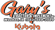 Gary's Tractor & Implement Logo